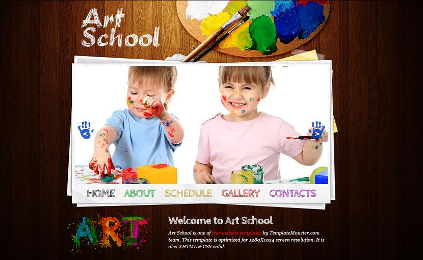 Art School Template