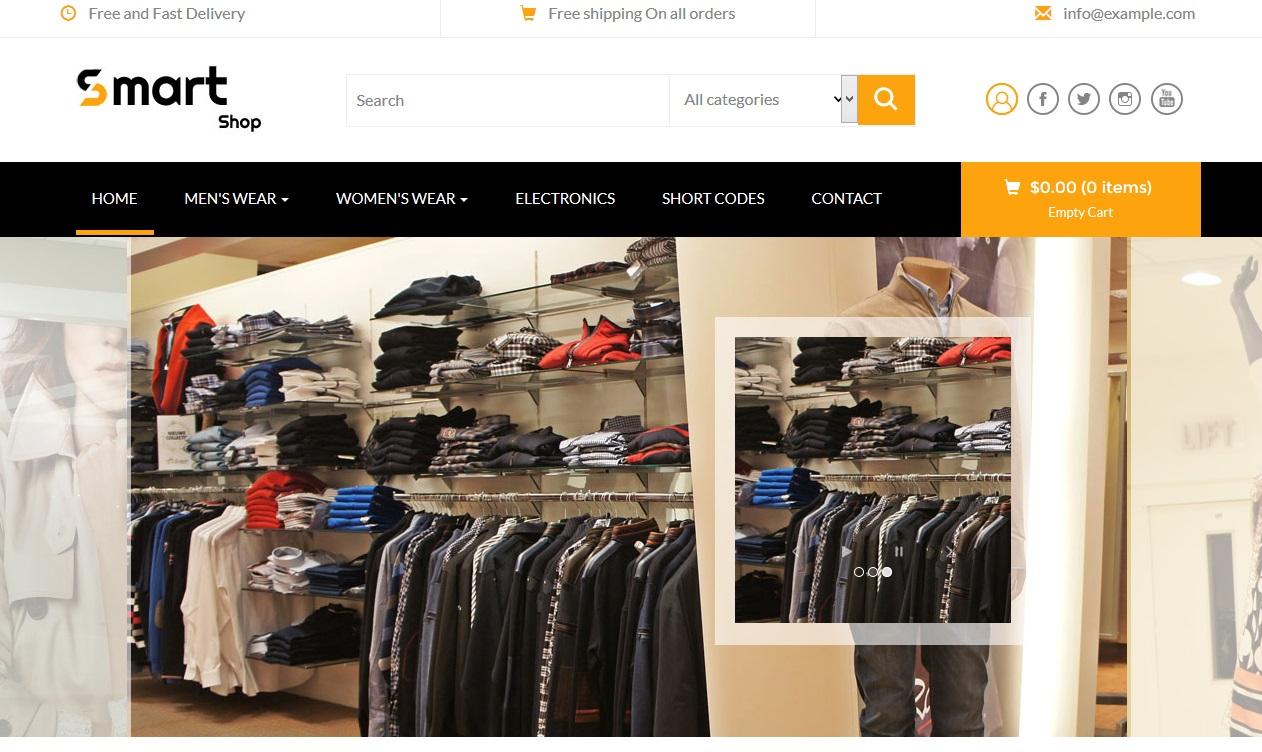 Smart Shop for web e-commerce