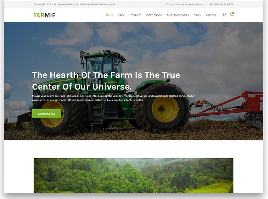 Farmie Free Templates
