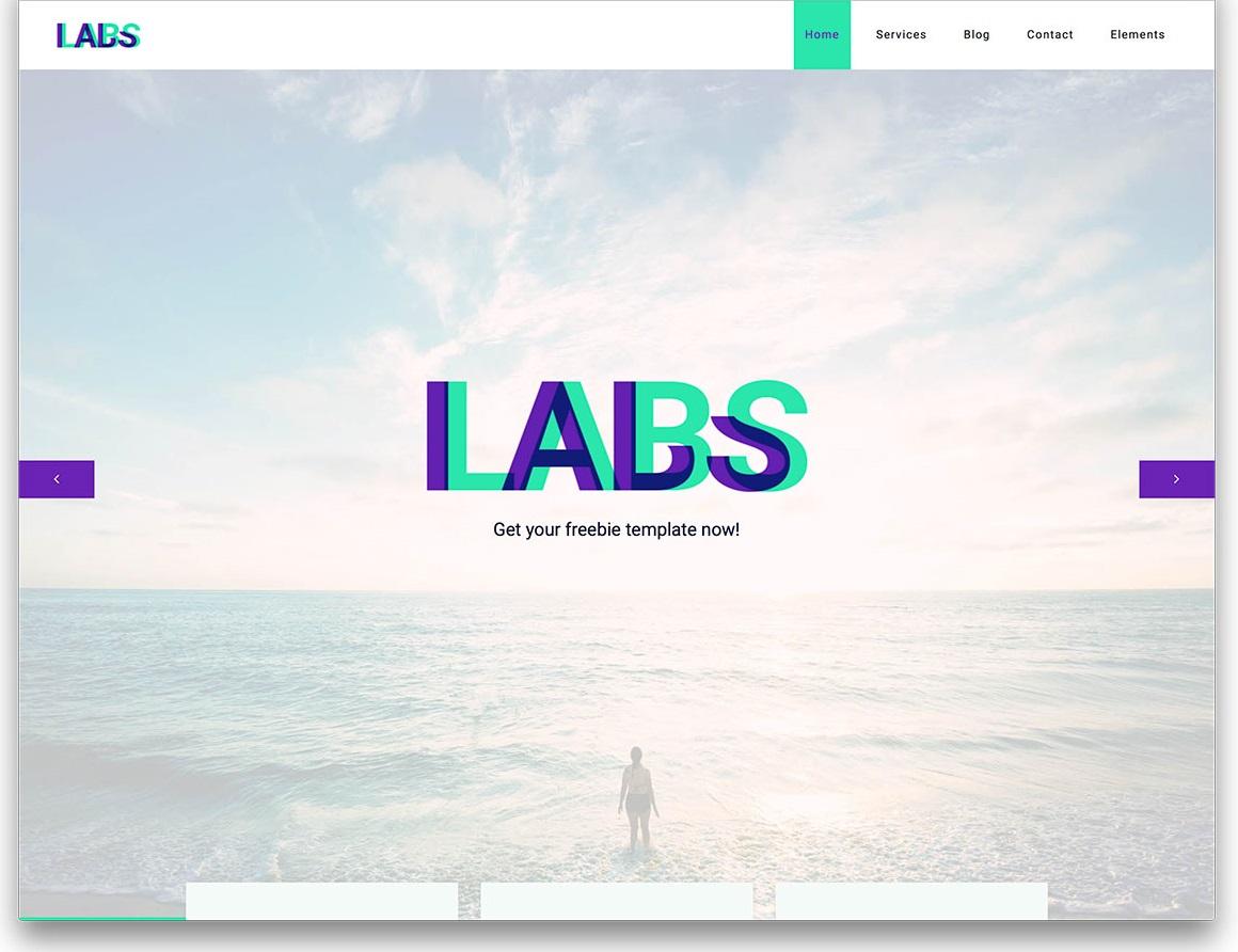 Labs digital agency website template