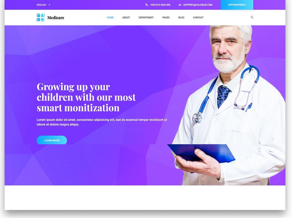 Medicare 2 free template