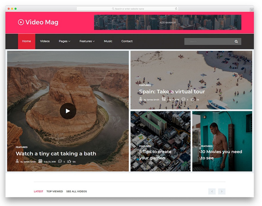 Video Mag Free Templates