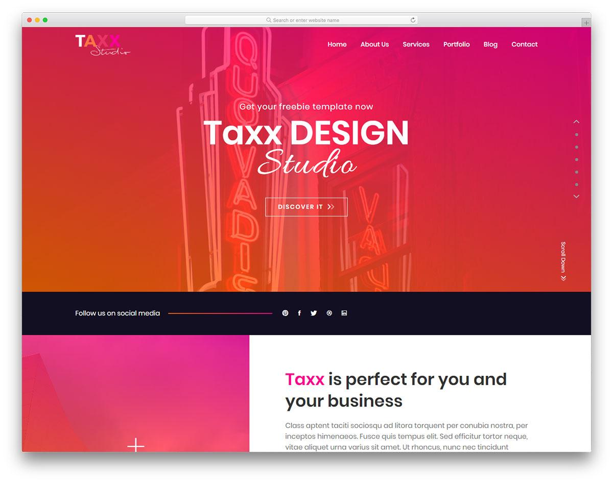 Taxx free template