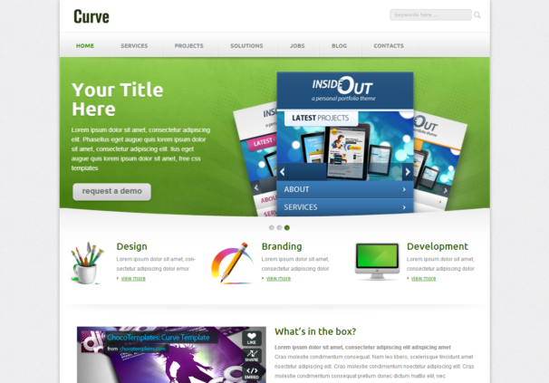 Curve Responsive Html5
