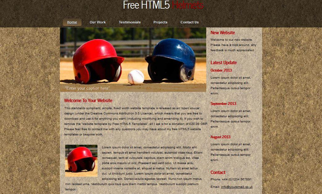 HTML5 Helmets
