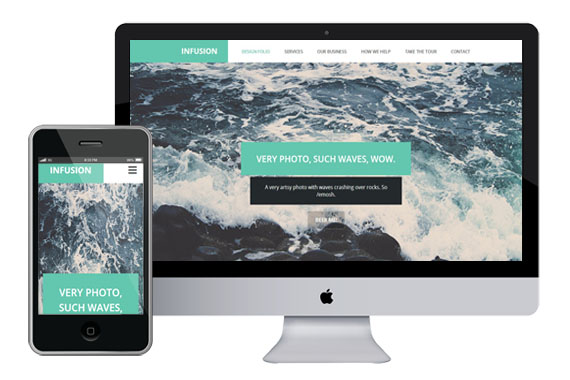 Infusion Responsive Html5
