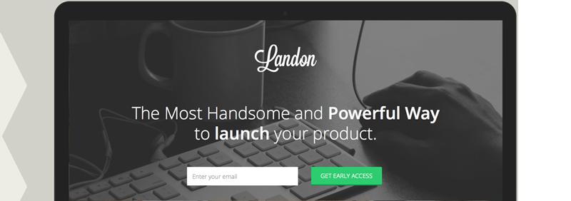 Landon - Bootstrap 3 Landing Page