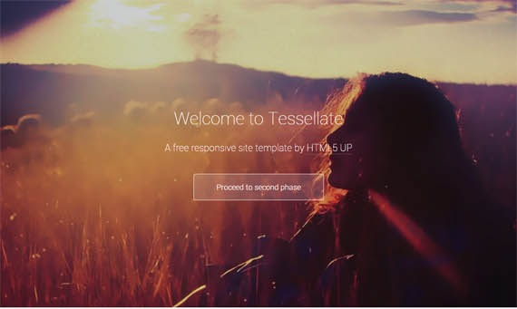 Tessellate Responsive Site Template Free