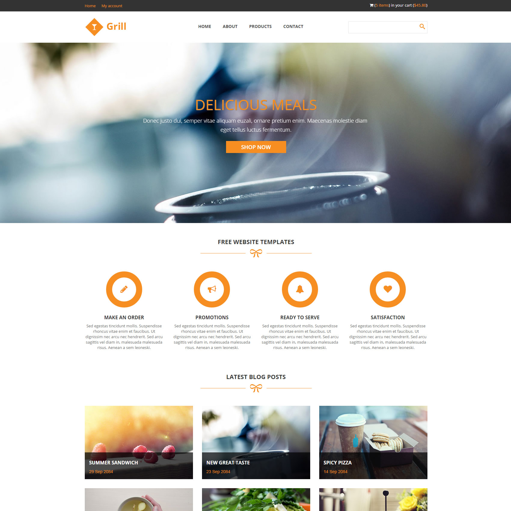 template html5 css3 free download contestcounsel