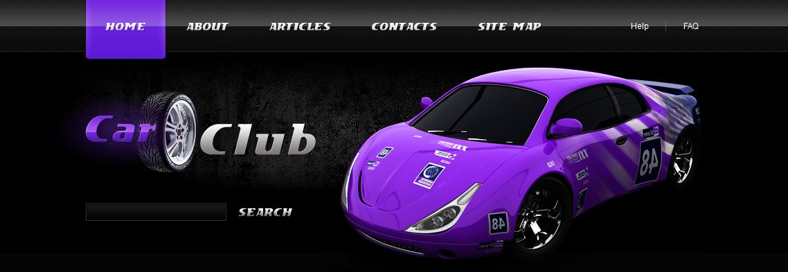 Car Club Template