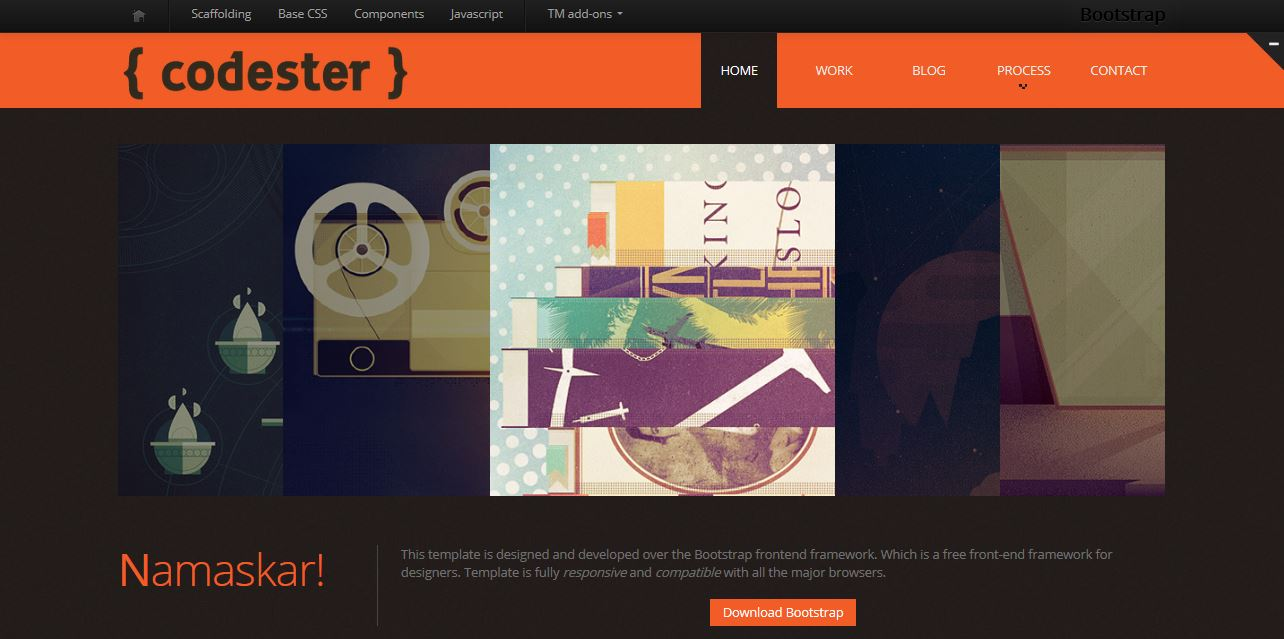 Codester Template Free