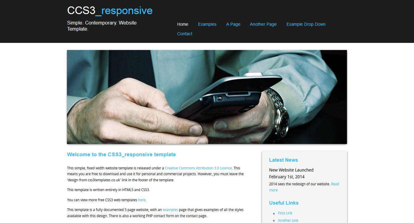 Css3 Responsive