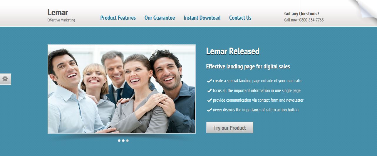 Lemar Template Free Download