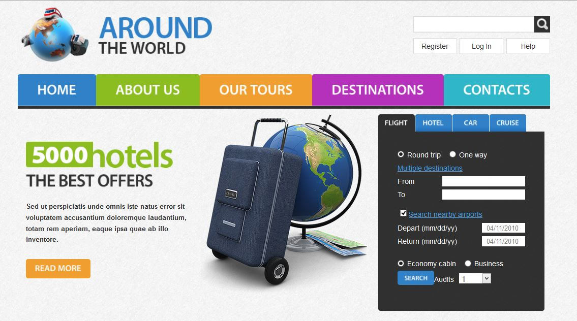 Around Travel Responsive