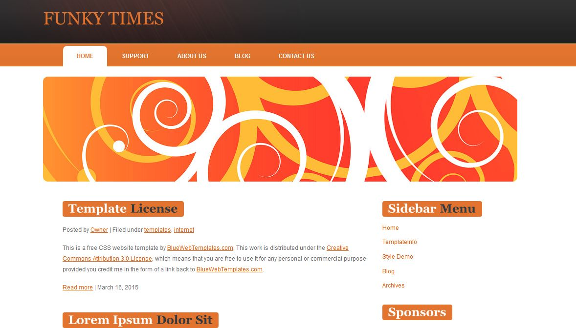 Funky Times Templates