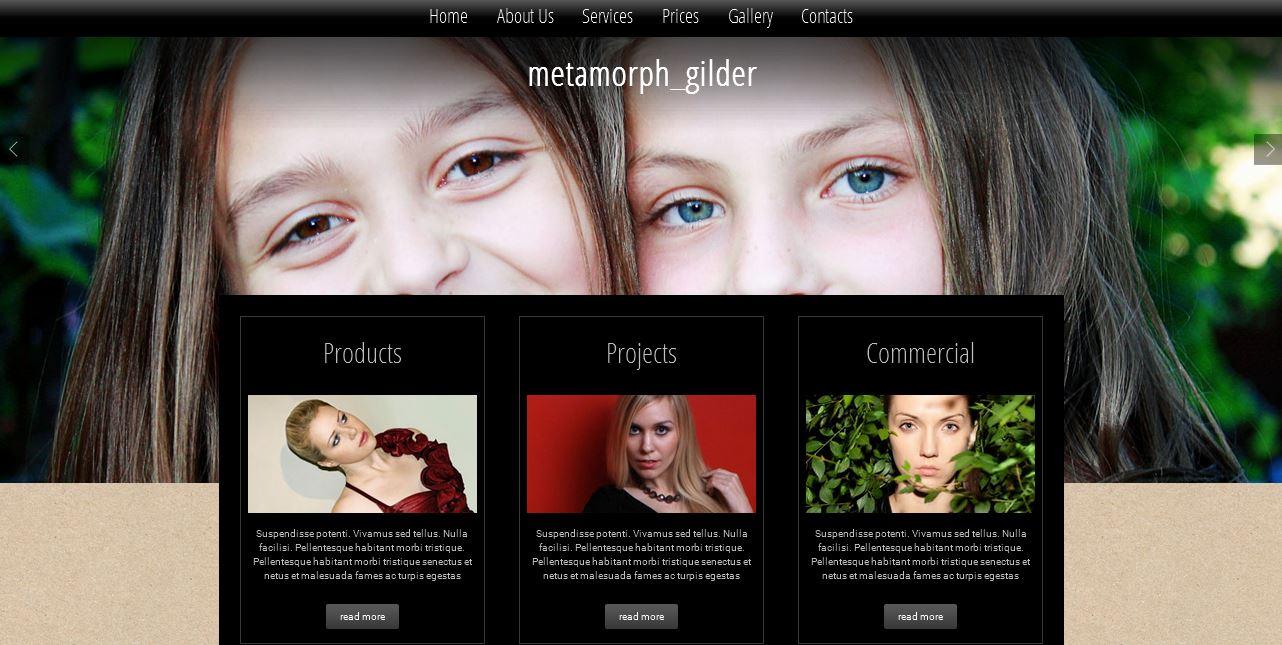 Metamorph Gilder