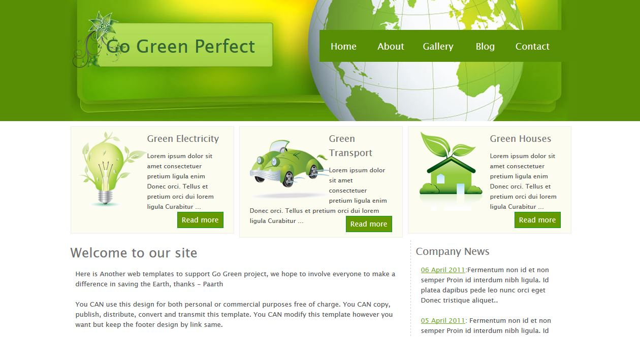 Go Green Perfect