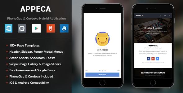 Appeca - PhoneGap & Cordova Mobile App