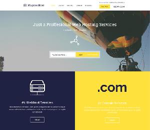 Maguwohost Flat Bootstrap Responsive