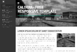 Caldera Free Template