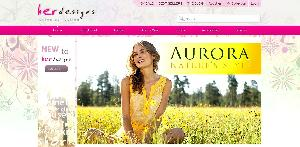 Her Designs Web Template