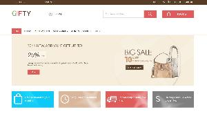 Gifty a Flat Ecommerce Bootstrap Responsive