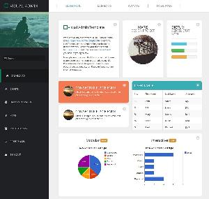 Visual Admin Free Templates