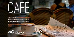Bazinga Cafe Free Html5 Template
