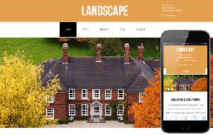 Landscape Html5 for Real Estate
