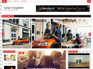 Sybar Magazine - Free templates Html5 for Magazine Website