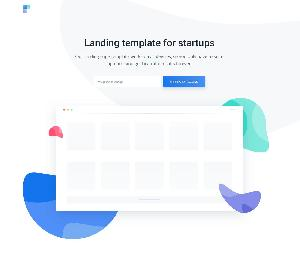 Ava One Page HTML Template