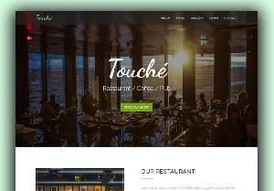 Touche free restaurant template Bootstrap