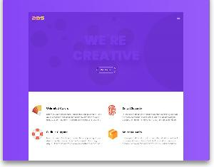 BBs free small company website template