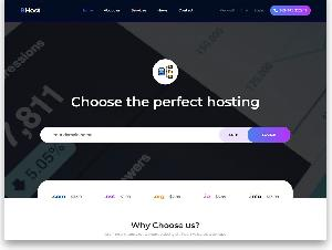 Bhost Hotting free template