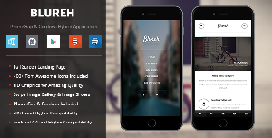 Blureh Mobile Template for PhoneGap & Cordova Mobile App