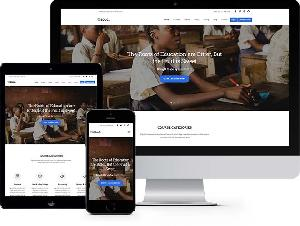 Education - Free HTML5 Bootstrap Template eLearning School Websites