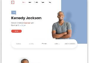 Kenedy Bootstrap free template