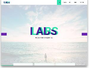 Labs digital agency website template