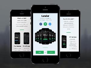 Landor theme PhoneGap & Cordova Mobile App