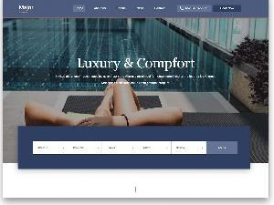 Major Luxury free template