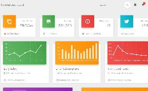 Material Dashboard Templates