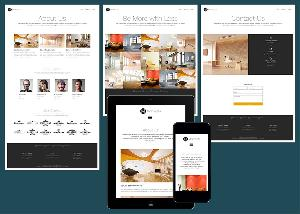Minimalista - Responsive business website template