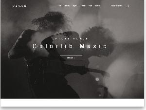 One Music - Band Website Free