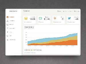 Paper Dashboard Free Bootstrap Admin Template