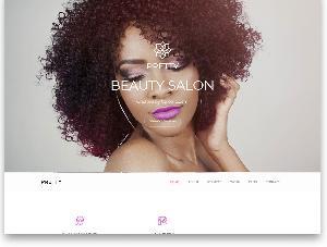 Pretty Beauty salon free template