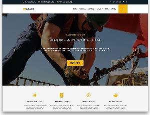 Top Builder construction company website template