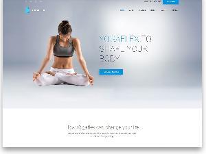 Yoga Flex free template