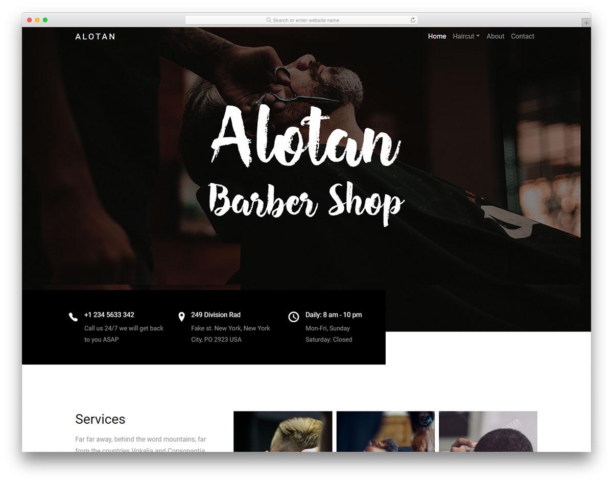 Alotan free template
