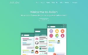 Avilon One Page HTML Template