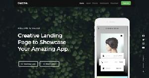 Dazzle One Page HTML Template